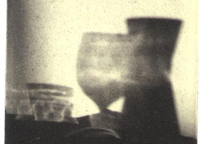 Glas og kande