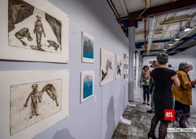 Fyns Grafiske Værksted, værker af Ingrid Duch, Ingsi Cron og Margit Elmelund